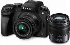 Panasonic Lumix G7 16.0 MP Digital Mirrorless Camera - Black (Kit with...