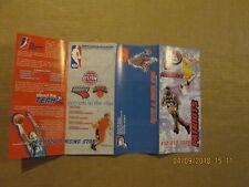 D-League Fayetteville Patriots Vintage Circa 2005-2006 Season Ticket Brochure