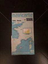 CARTA NAUTICA NAVICARTE 1006  CALVI - BASTIA CORSICA CORSE