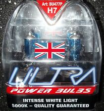H7 ULTRA POWER BULBS H7 XENON BULBS UPGRADE ULTRA H7 POWER BULBS 5000k