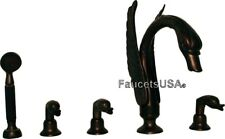 SWAN ORB TUB FAUCET MATCH OUR ALLBRASS BRONZE SINK SETS Free Shipping Warranty