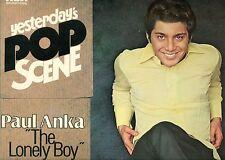 """PAUL ANKA THE SOLITAIRE BOY HIER POP SCÈNE 12"""" LP (L8401)"""