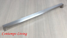 """23-3/4"""" Stainless Steel Square Bold Style Kitchen Cabinet Pull Handle"""