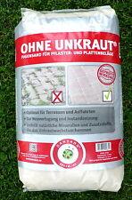 Steinmehl Dansand Sylt hell Fugen Pflaster Sand OHNE Unkraut Terrasse 1,25/kgNEU
