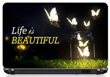 "Life is Beautiful Laptop Skin 15.6"" - High Quality 3M Vinyl"