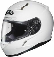 HJC CL-17 Solid White