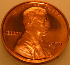 1970-S Lincoln Memorial Cent Proof Red Penny Large Date