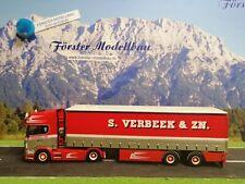 "Tekno 71529 Scania R TL Gardinenplanen-Sz ""S. Verbeek"" (NL) 1:50"