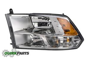 13-18 Dodge Ram 1500 2500 3500 4500 5500 FRONT LEFT DRIVER SIDE HEADLIGHT LAMP