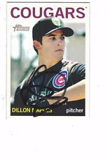 2013 Topps Heritage Dillon Maples Kane County Cougars Chicago Cubs Autograph COA