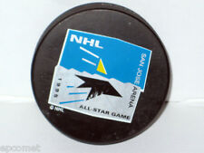 Vintage 1995 NHL ALL STAR Mid Season TRENCH MFG. Black official NHL Hockey PUCK