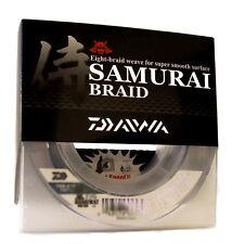 New Daiwa Samurai Braided Line - Green 40lb Test, 300 yards - DSB-B40LB300YG