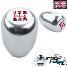 SILVER 5 SPEED BILLET ALLOY GEAR KNOB Fits MAZDA MX3 MX5 RX7 RX8 BONGO