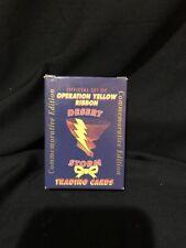 Operation Yellow Ribbon Desert Storm Trading Cards