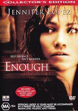 ENOUGH DVD R4 JENNIFER LOPEZ ***