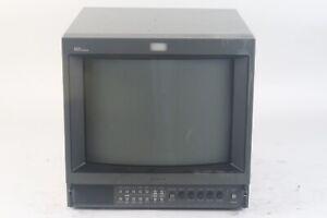 "Sony PVM-1354Q Trinitron 13"" High Resolution Color Video Monitor"