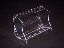ORIGINAL Ribbon Roll Control Holder - Acrylic Ribbon Storage- Shelf or Wall