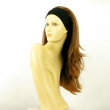 headband wig long brown blond copper wick BENEDICTE 6BT27B