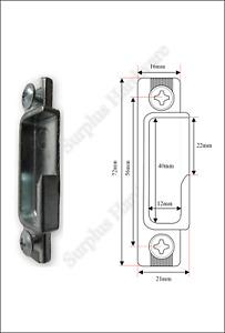 Lockmaster Mila Master uPVC Door Roller Keep Strike Plate PLK99-CO 21 LH