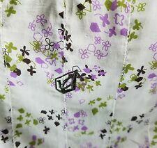 Volcom Women's Skirt - Clover Days size 7 White/Magenta/Pink/Green FREE SHIPPING