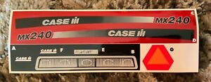 Decal for Case IH MX240  Pedal Tractor - new NOS by Ertl