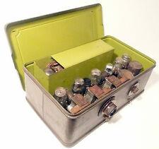 "vintage * ATWATER KENT ""BREADBOX"" radio: METAL BOX & model 37 CHASSIS w/ 7 TUBES"