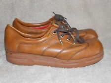 Fasinator Vintage Brown LOAFER Lace Up 8.5 For Women Used