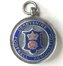 More details for 1930's derbyshire football association medal competition winners enamel