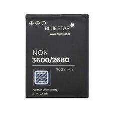 Akku Batterie für Nokia BL-4S 2680 / 3600 Slide 700mAh Li-ion Accu von Bluestar