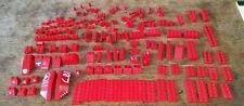 147 Rare Assorted Red Lego Bricks & Pieces & Parts Star Wars City Ex-Condition