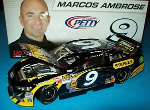 Marcos Ambrose 2013 Dewalt Childrens Miracle Network #9 Richard Petty Ford 1/24