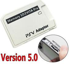 V5.0 SD2VITA PSVSD Micro SD Card Adapter For PS Vita PSV1000/2000 UP To 256GB