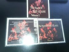 """THE CLASH """" THE STORY OF THE CLASH """" DOUBLE  CD ALBUM"""