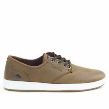 Emerica Romero Laced Shoes Brown Leather BNWT NEW skateboarding SALE