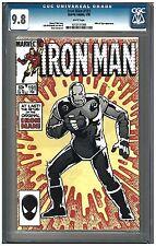 Iron Man # 191 CGC 9.8 (2/85) Marvel Comics white pages
