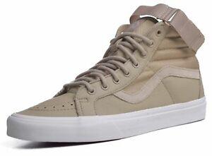 Vans Sk8 Hi Reissue Men's Leather Ballistic Corns Skateboard Shoes