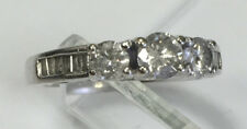 10k White Gold & Diamond Ring, 1ctw, Size 4.75