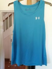 Mens Under Armour Heatgear Fitted Vest Top.