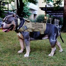 New ListingTactical Dog Harness No Pull Vest Military Service Canine K9 Training Heavy Duty