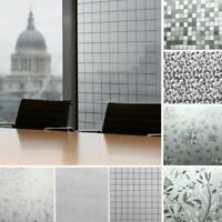 Waterproof Frosted Privacy Bedroom Bathroom Window Glass Film Sticker AU#