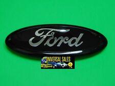 Einfarbig Schwarz Ford Ranger Oval Emblem Abzeichen Logo Gitter Vorne Hinten