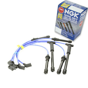 1 pc NGK Spark Plug Wire Set for 1996-2000 Nissan Pathfinder 3.3L V6 - ew
