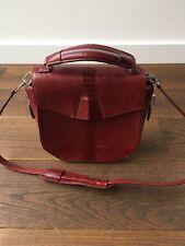Alexander Wang Leather Shoulder Bag, Red