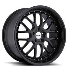 19 inch 19x9.5 Tsw Valencia Matte black wheel rim 5x112 +40(Fits: Rabbit)