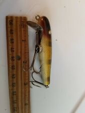 3 Inch Vintage Fishing Lure Paw Paw Crank Bait Clean One Eye Silver Other Paint