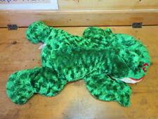 "Huge Dan Dee Green Frog Plush Red Lips Kiss Large Stuffed 27"" Collectors Choice"