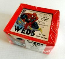 1991 Spider-Man Webs sticker cards sealed box - Comic Images