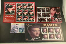 The Elvis Stamp Collection Mystic Stamp Company 4 Sheets