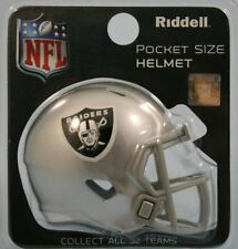 Oakland Raiders NFL Riddell Speed Pocket Pro Casque