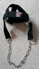 Neck Head Harness ELITE With Extra D-Hook To Attach To Cable Machine - New